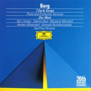 Alban Berg: 7 Early Songs - Piano And Orchestral Versions / Der Wein (CD) - Bild 1
