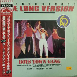 Cover - Boys Town Gang: Remember Me / Ain't No Mountain High Enough Suite