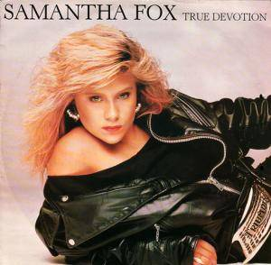 Samantha Fox: True Devotion - Cover