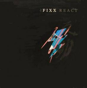 The Fixx: React - Cover