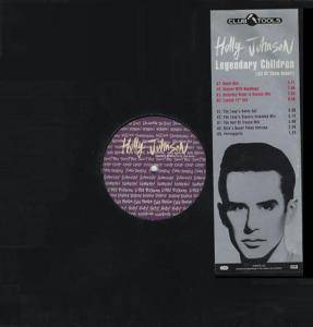 Holly Johnson: Legendary Children (All Of Them Queer) - Cover