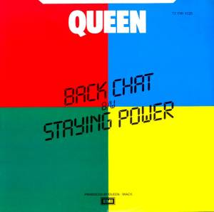 "Queen: Back Chat (7"") - Bild 2"