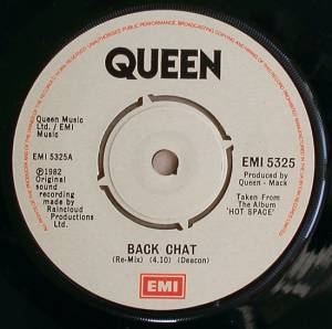 "Queen: Back Chat (7"") - Bild 3"