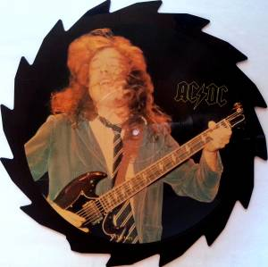 AC/DC: Limited Edition Interview Picture Disc (Shape-LP) - Bild 1
