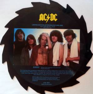 AC/DC: Limited Edition Interview Picture Disc (Shape-LP) - Bild 2