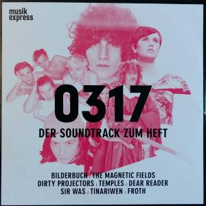 Musikexpress 0317 - Der Soundtrack Zum Heft - Cover
