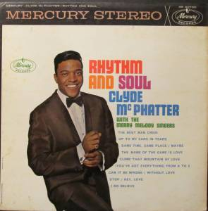 Cover - Clyde McPhatter: Rhythm And Soul