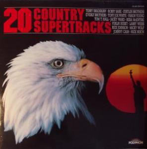 20 Country Supertracks - Cover