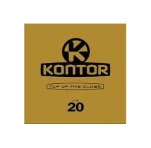 Kontor - Top Of The Clubs Vol. 20 - Cover