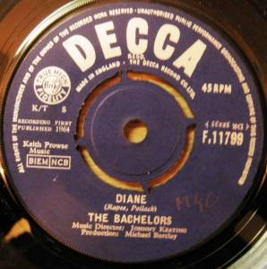 Cover - Bachelors, The: Diane