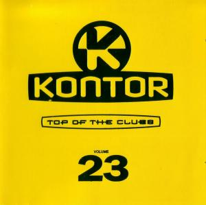 Kontor - Top Of The Clubs Vol. 23 - Cover