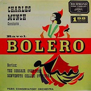 Cover - Maurice Ravel: Bolero / The Corsair Overture / Benvenuto Cellini Overture
