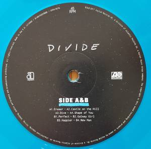 Ed Sheeran: ÷ Divide - 2-LP + CD (2017, Limited Edition