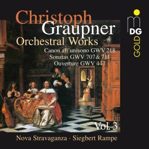 Cover - Christoph Graupner: Orchestral Works Vol. 3