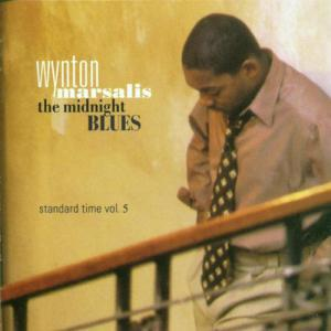 Wynton Marsalis: Midnight Blues - Standard Time Vol. 5, The - Cover