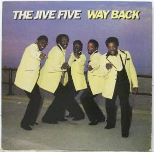 Cover - Jive Five, The: Way Back