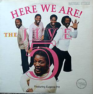 Cover - Jive Five, The: Here We Are