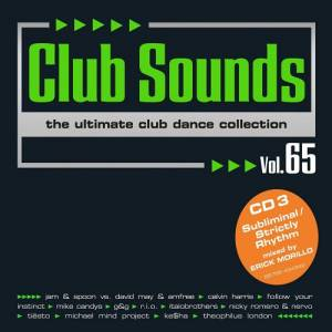 Cover - Alex M Vs. Marc van Damme: Club Sounds Volume 65 - The Ultimate Club Dance Collection