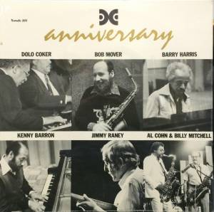 Cover - Kenny Barron: Anniversary