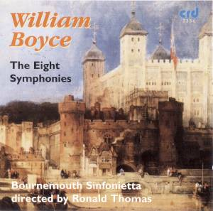 Cover - William Boyce: Eight Symphonies, The