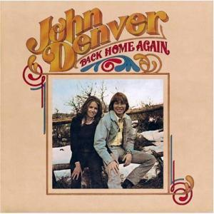 John Denver: Back Home Again - Cover