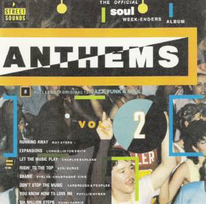 Cover - Charles Earland: Anthems Volume 2