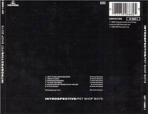 Pet Shop Boys: Introspective (CD) - Bild 2