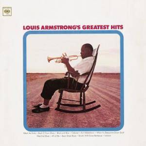 Louis Armstrong: Greatest Hits (CBS) - Cover