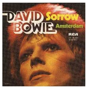 David Bowie: Sorrow - Cover