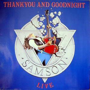 Samson: Thank You And Goodnight - Cover