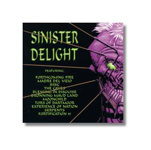 Cover - Caves, The: Sinister Delight