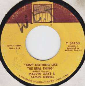 Cover - Marvin Gaye & Tammi Terrell: Ain't Nothing Like The Real Thing