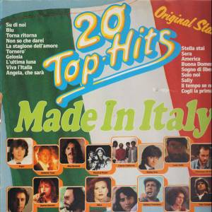 Cover - Del Faro: 20 Top-Hits Made In Italy