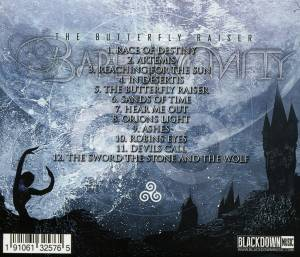 Bare Infinity: The Butterfly Raiser (CD) - Bild 2