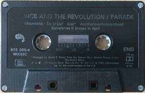 Prince And The Revolution: Parade (Tape) - Bild 6