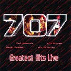 707: Greatest Hits Live - Cover