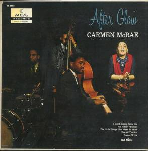 Cover - Carmen McRae: After Glow