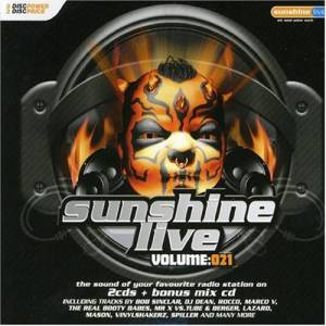 Cover - Clubbticket: Sunshine Live Volume: 021