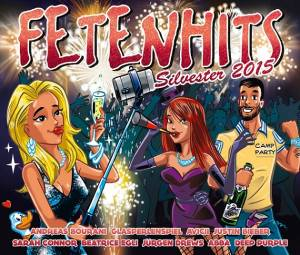Cover - Philip George: Fetenhits - Silvester 2015