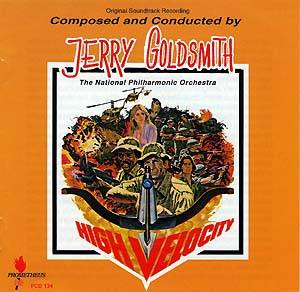Jerry Goldsmith: High Velocity - Cover