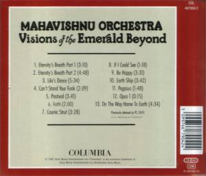 Mahavishnu Orchestra: Visions Of The Emerald Beyond (CD) - Bild 2