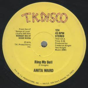 "Anita Ward: Ring My Bell (12"") - Bild 1"