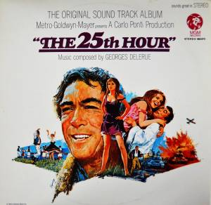 Cover - Georges Delerue: 25th Hour, The
