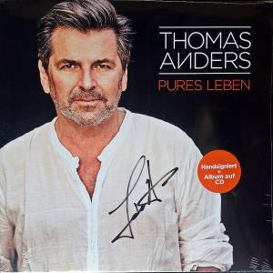 Thomas Anders Pures Leben 2 Lp Cd 2017 Limited Edition