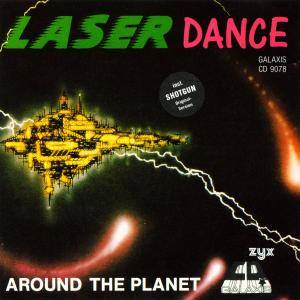Laserdance: Around The Planet - Cover