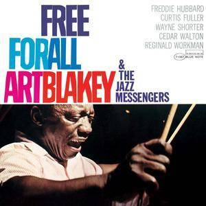 Art Blakey & The Jazz Messengers: Free For All - Cover