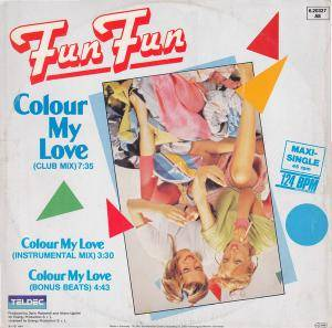 Fun Fun: Colour My Love - Cover
