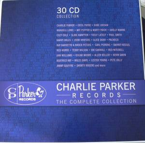 Charlie Parker Records - The Complete Collection - Cover