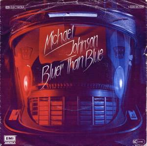 Cover - Michael Johnson: Bluer Than Blue