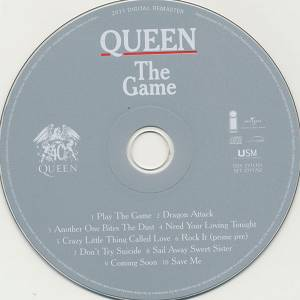 Queen The Game Titel